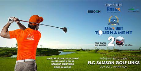 Golf thu duoc an nghi mien phi 1 tuan khi du giai Faros Golf Tournament 2016 - Anh 1