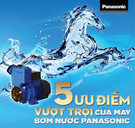 5 uu diem vuot troi cua may bom nuoc Panasonic - Anh 1
