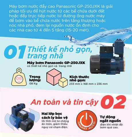 5 uu diem vuot troi cua may bom nuoc Panasonic - Anh 2