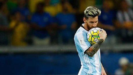 Messi da kem o DT Argentina: Ngoi sao co don - Anh 1