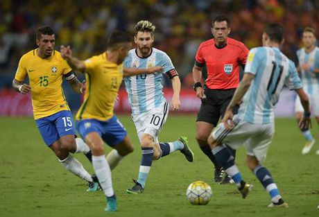 Messi da kem o DT Argentina: Ngoi sao co don - Anh 2