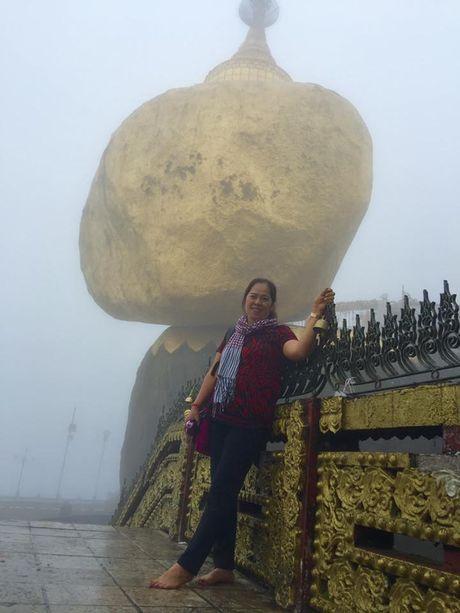 Kham pha Chua Golden Rock tren dinh Kyaikhtiyo - Myanmar - Anh 5
