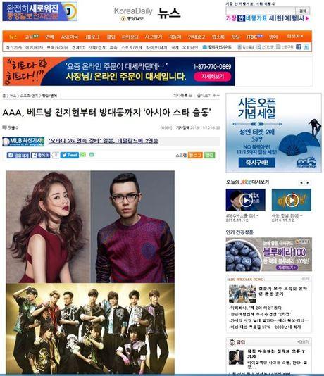 Chi Pu sang Han Quoc du le trao giai cung EXO - Anh 1