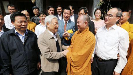 Tong Bi thu du Ngay hoi dai doan ket toan dan toc o Bac Ninh - Anh 1
