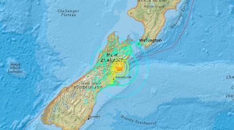 Dong dat 7,8 do Richter rung chuyen New Zealand, nhieu thuong vong - Anh 1