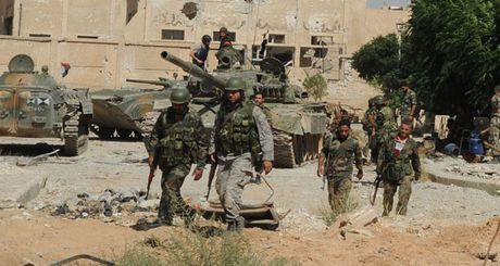 Ve binh Syria tan cong khu vuc Dong Ghouta - Anh 1