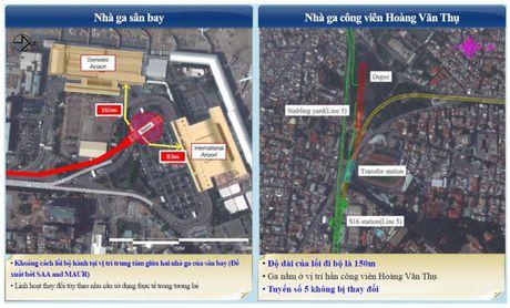 Thiet ke tuyen metro vao san bay Tan Son Nhat - Anh 1