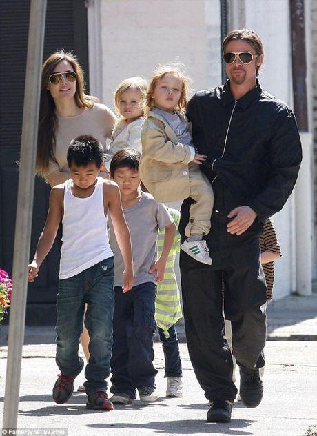 Bo Angelina Jolie lan dau len tieng ve vu ly di cua con gai - Anh 5