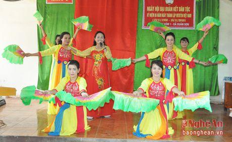 Pho Chu tich HDND tinh Hoang Viet Duong du ngay hoi dai doan ket tai Do Luong - Anh 2