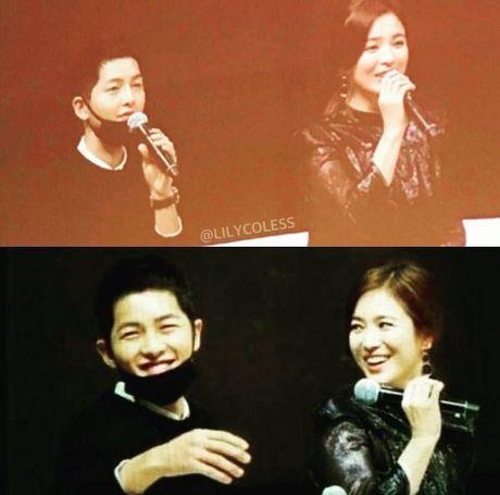 Tin duoc khong: Song Hye Kyo biet uong ruou la do Song Joong Ki day! - Anh 2
