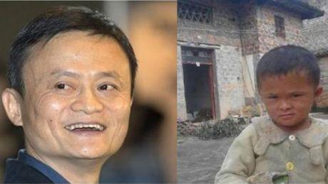 Giong ti phu Jack Ma, cau be ngheo duoc chu cap den khi truong thanh - Anh 1
