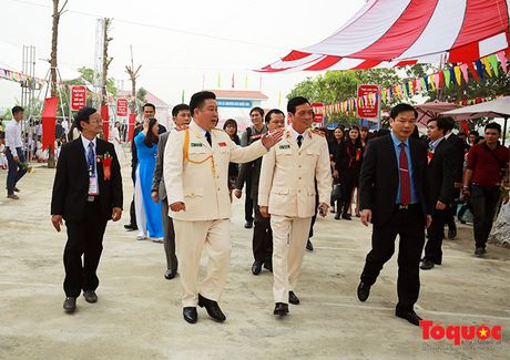Tuong linh Bo Cong an, Quoc phong ve tham truong xua - Anh 11