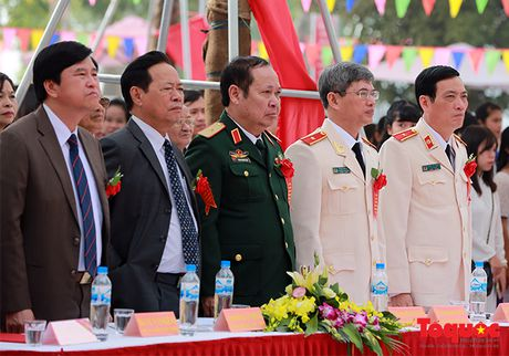 Tuong linh Bo Cong an, Quoc phong ve tham truong xua - Anh 4