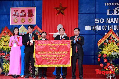 Tuong linh Bo Cong an, Quoc phong ve tham truong xua - Anh 8