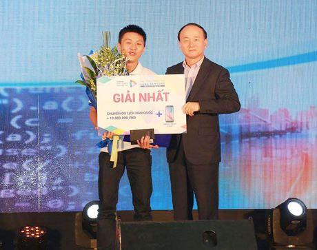 Sinh vien Dai hoc Bach khoa vo dich Samsung Software Challenge 2016 - Anh 1