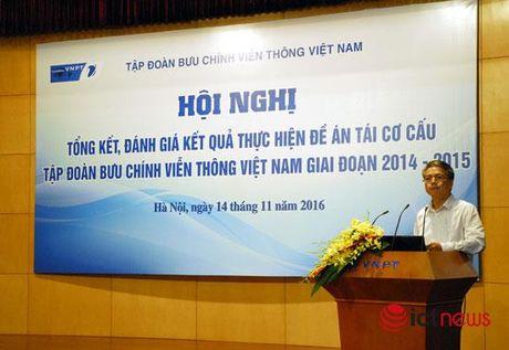 Loi nhuan VNPT tang gap doi sau 2 nam tai co cau - Anh 1