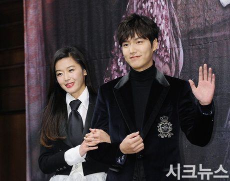 Jun Ji Hyun mac ruom ra ben Lee Min Ho - Anh 5