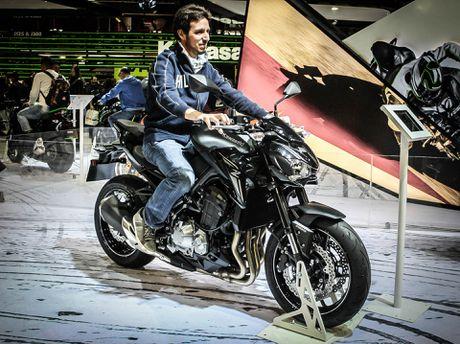 Kawasaki Z900 trinh lang, thay the Z800 - Anh 9