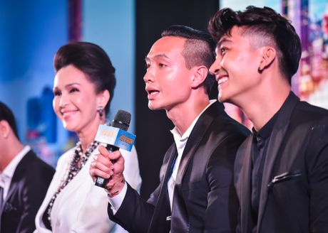 Truong Ngoc Anh den hop bao mung sinh nhat ban trai Kim Ly - Anh 5