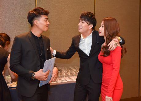 Truong Ngoc Anh den hop bao mung sinh nhat ban trai Kim Ly - Anh 8