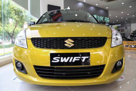 Chi tiet Suzuki Swift dac biet gia 609 trieu tai Viet Nam - Anh 1