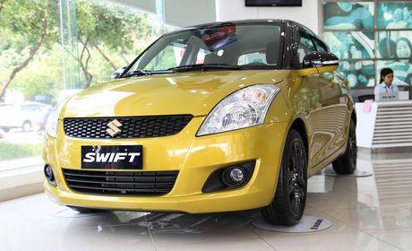 Chi tiet Suzuki Swift dac biet gia 609 trieu tai Viet Nam - Anh 2