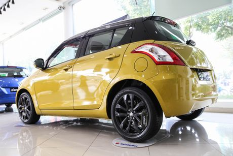 Chi tiet Suzuki Swift dac biet gia 609 trieu tai Viet Nam - Anh 4