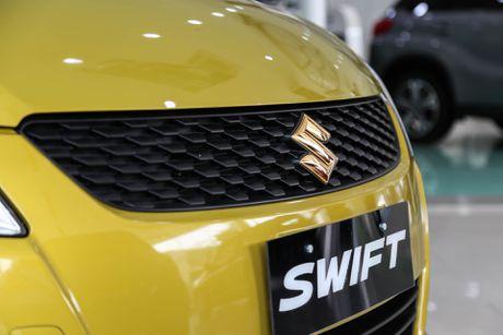 Chi tiet Suzuki Swift dac biet gia 609 trieu tai Viet Nam - Anh 8