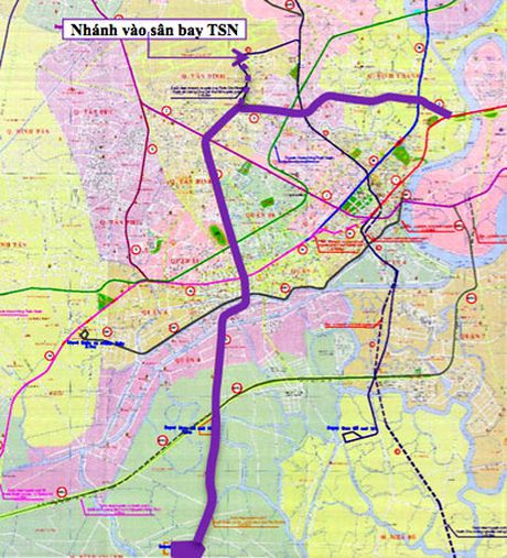 TPHCM xay tuyen metro vao san bay Tan Son Nhat - Anh 1