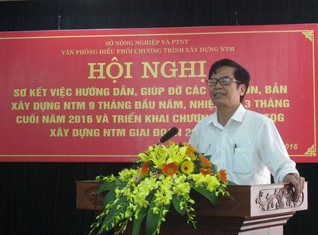 Xay dung NTM o Thanh Hoa: Tham dinh thuc chat, khach quan, khong chay theo thanh tich - Anh 1