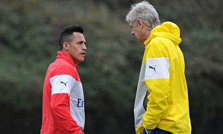 Arsene Wenger tuc dien vi Alexis Sanchez - Anh 3
