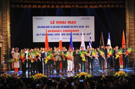 Khai mac Lien hoan quoc te San khau thu nghiem 2016 - Anh 1
