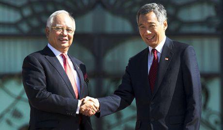 Malaysia, Singapore sap ky thoa thuan ve xay dung duong sat cao toc - Anh 1