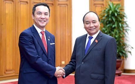 Thu tuong Nguyen Xuan Phuc tiep Thong doc tinh Mie Nhat Ban - Anh 1