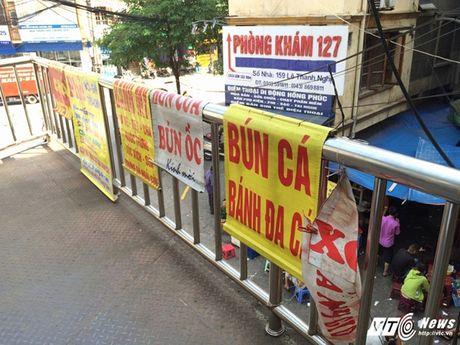 Hang rong, vat lieu bien cau di bo o Ha Noi thanh bai rac - Anh 5