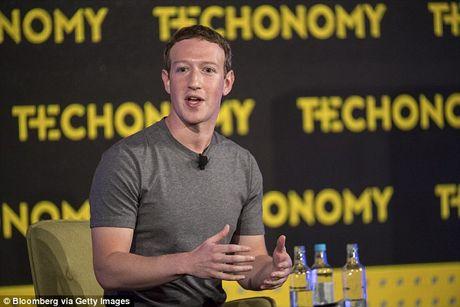 Zuckerberg len tieng truoc cao buoc Facebook tro giup D.Trump - Anh 1