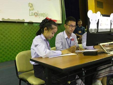 Cuoc thi Violympic chinh thuc 'xuat khau' sang Lao - Anh 1