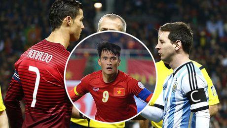 10 chan sut hay nhat cap DTQG: Cong Vinh sanh vai cung Ronaldo, Messi - Anh 1