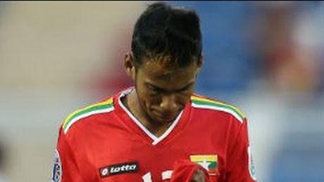 DT Myanmar thua dam truoc tran gap DT Viet Nam tai AFF Cup 2016 - Anh 1