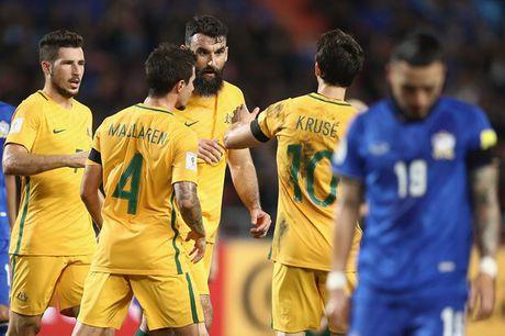 VL World Cup: Han Quoc, Nhat Ban toan thang; Thai Lan hoa kich tinh Australia - Anh 2