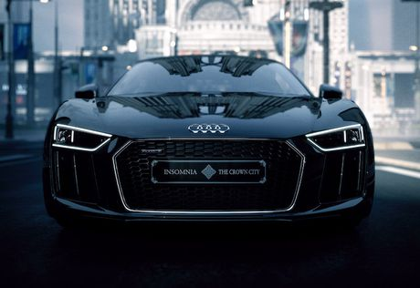 'Doc ban' Audi R8 phong cach Final Fantasy gia 10,8 ty - Anh 7