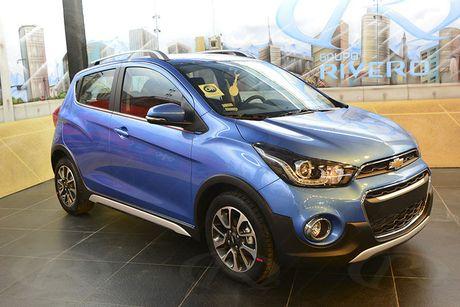 Chevrolet Spark Activ 2017 'chot gia' 391 trieu dong - Anh 9