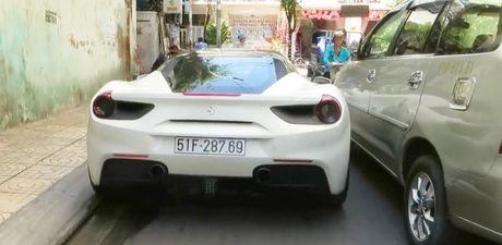Ferrari 15 ty cua Cuong Do la chat vat lan banh tai SG - Anh 1