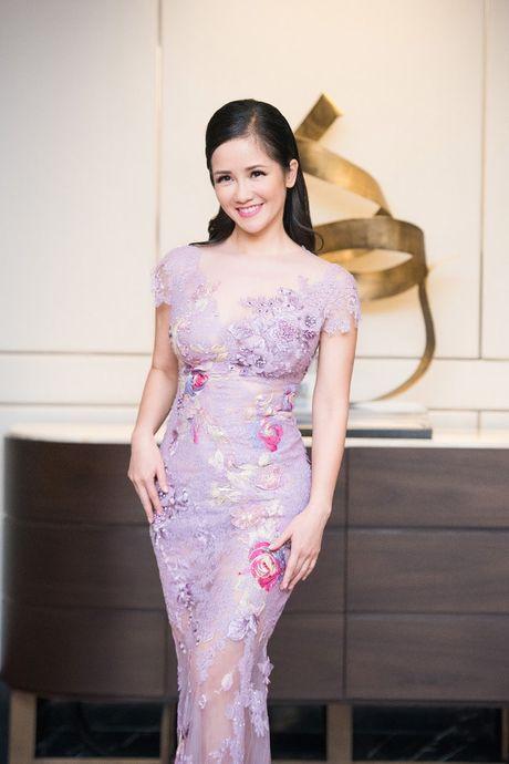 Hong Nhung, Le Quyen do sac Thuy Van, Dan Le voi vay ao goi cam - Anh 6