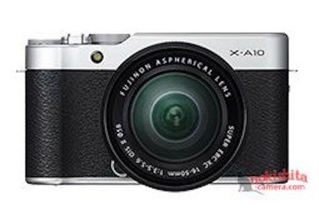 Fujifilm X-A10 chua ra mat da lo dien - Anh 1