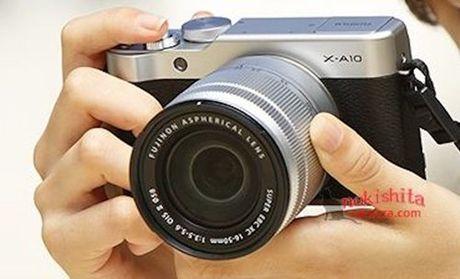Fujifilm X-A10 chua ra mat da lo dien - Anh 2