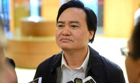 Bo truong Bo GD&DT 'len tieng' ve vu dieu giao vien di tiep khach, uong ruou - Anh 1