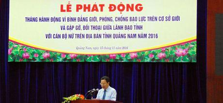 Vi su tien bo va binh dang gioi cua phu nu Quang Nam - Anh 1