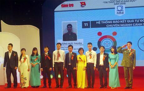 Tong ket va trao giai thuong 'Tri thuc tre vi giao duc nam 2016' - Anh 2