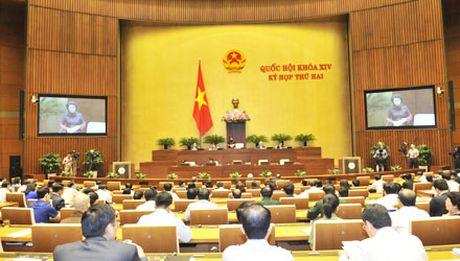 Bo truong Tai Nguyen va Moi truong dang dan tra loi chat van Quoc hoi - Anh 2
